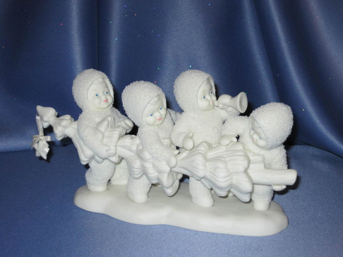 "Snowbabies ""Hi-Ho, Hi-Ho, To Frolic Land We Go!"" Figurine W/Box."