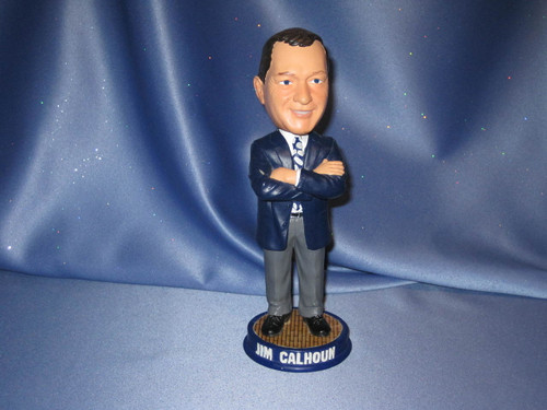 Jim Calhoun Bobblehead by Forever Collectible.