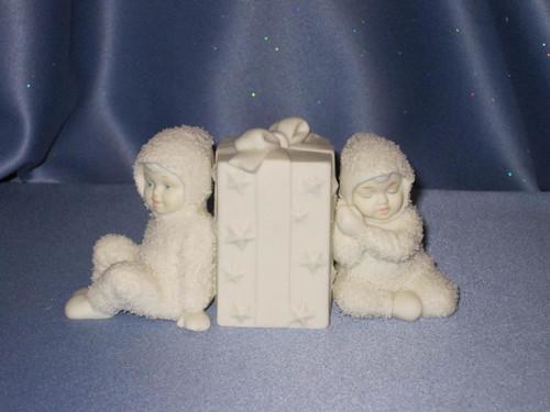 "Snowbabies ""Waiting for Christmas"" Figurine W/Box."