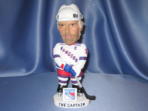 Mark Messier of the New York Rangers Bobblehead by Bobble Dobbles.