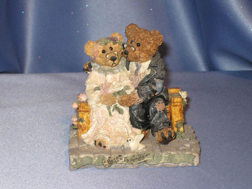 "Boyds Bears & Friends ""Grenville & Beatrice...Best Friends"" Figurine."