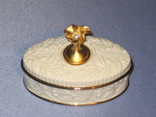 Treasure Box - Month of April with Diamond (Artificial) by Lenox.