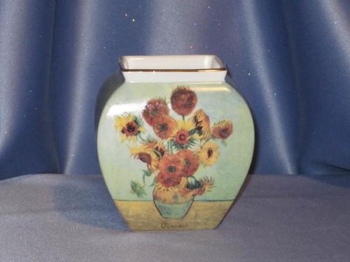 Sunflowers Small Vase - Vincent Van Gogh - W. Goebel.