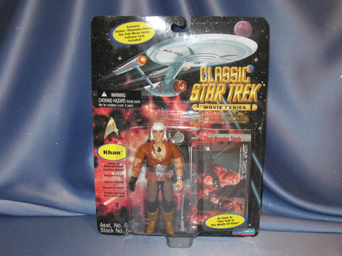 Star Trek - Classic Star Trek Movie Series - Khan by Playmates.