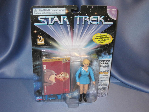 Star Trek - Christine Chapel by Playmates.