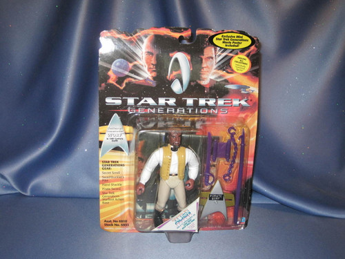 Star Trek - Generations - Worf by Playmates.