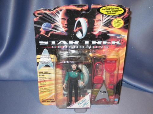 Star Trek - Generations - Commander Deanna Troi by Playmates.