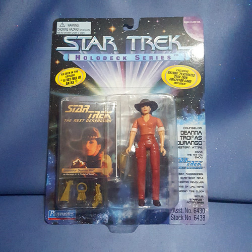 Star Trek - Holodeck Series - Counselor Deanna Troi by Playmates.