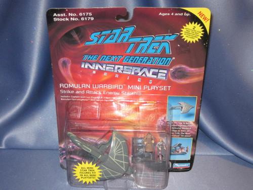 Star Trek - The Next Generation Innerspace - Romulan Warbird Mini Playset by Playmates.