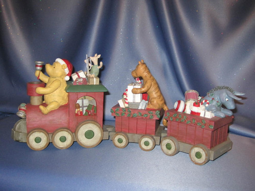 Choo Choo Pooh Centerpiece by Michel & Company - Disney.