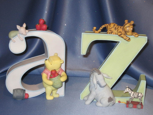 Classic Pooh - a to z Bookends by Michel & Company - Disney.