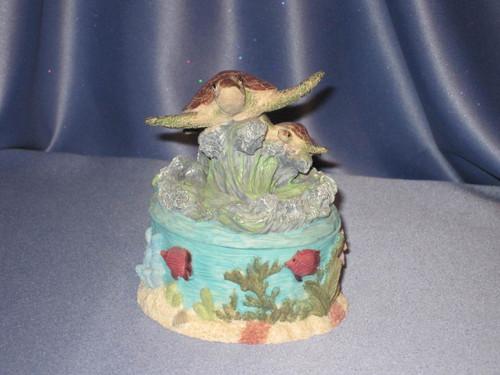Sea Turtles Trinket Box.