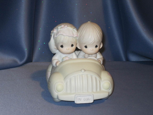 "Precious Moments ""Wishing You Roads of Happiness"" Figurine by Enesco W/Box."
