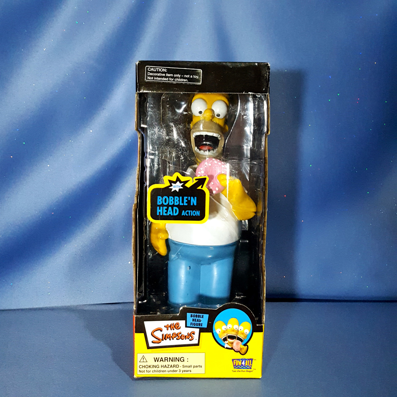 The Simpsons - Homer Bobblehead with Donut by FUN4ALL.