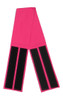 Fuchsia Fabric Belt with Hook and Loop Closure (4 inches wide)