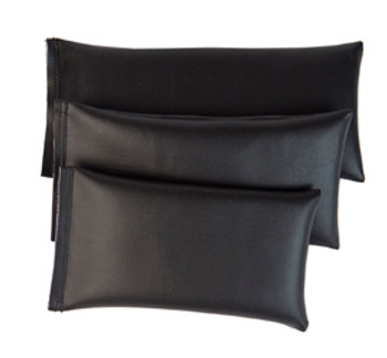 Rectangular Rice Bag with Black Vinyl