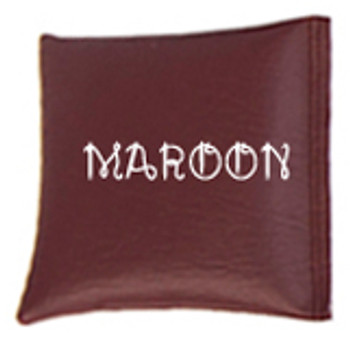 Square Rice Bag in Vinyl - Maroon