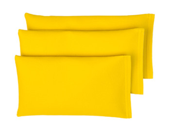 Rectangular Rice Bag with Yellow Vinyl