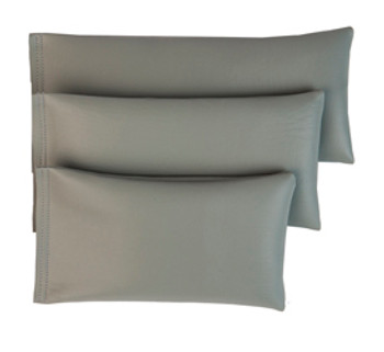 Rectangular Rice Bag with Gray Vinyl - Narrow
