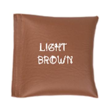 Square Rice Bag in Vinyl - Light Brown