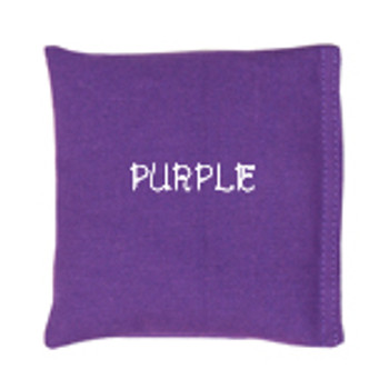 Square Rice Bag in Cotton Fabric - Purple