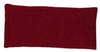 Rectangular Rice Bag with Maroon Cotton Fabric