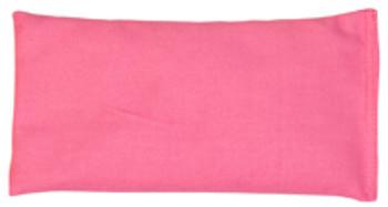 Rectangular Rice Bag with Pink Cotton Fabric
