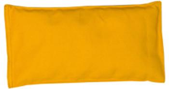 Rectangular Rice Bag with Mustard Cotton Fabric