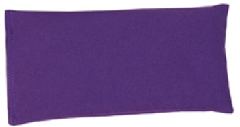 Rectangular Rice Bag with Purple Cotton Fabric
