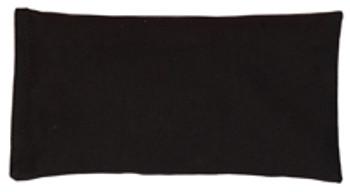 Rectangular Rice Bag with Black Cotton Fabric