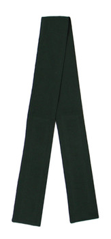 Hunter Green (Light) Fabric Belt with Hook and Loop Closure (3 inches wide)