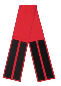 Red Velcro Fabric Belt