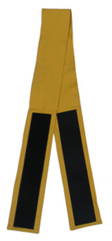 "3"" Velcro Belt in Mustard (Back View)"