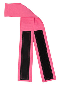 Pink Velcro Fabric Belt - 3 inches wide