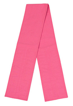 Pink Velcro Fabric Belt - 5 inches wide