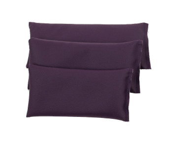 Rectangular Rice Bag with Eggplant Vinyl