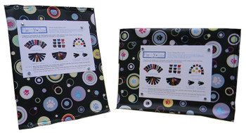 FrameCover with Dog Paws Fabric (Frame Included)