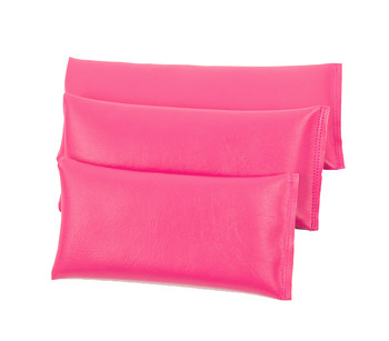 Rectangular Rice Bag with Fuchsia Vinyl