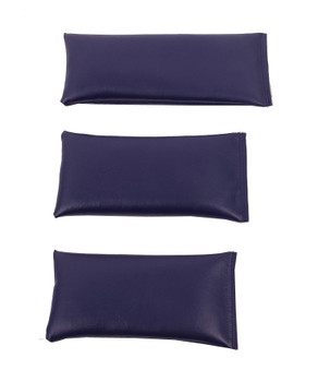 Rectangular Rice Bag with Purple Vinyl