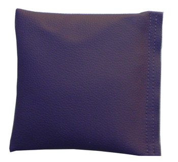 Square Rice Bag in Eggplant Vinyl
