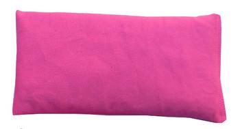 Rectangular Rice Bag with Fuchsia Fabric
