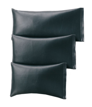 Rectangular Rice Bag with Dark Gray Vinyl