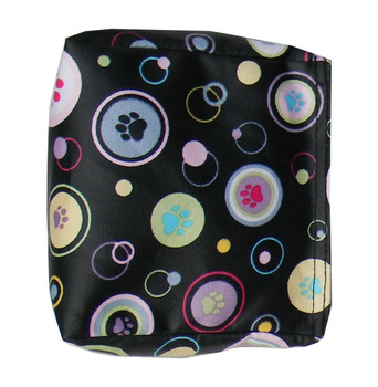 Wedge Rice Bag with Dog Print Tablecloth and Rice