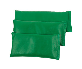 Rectangular Rice Bag with Green Vinyl