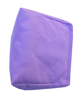 Wedge Rice Bag with Lavender Cotton Fabric