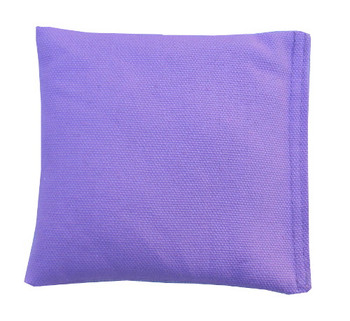 Lavender Square Rice Bag in Cotton Fabric