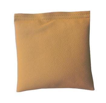 Square Rice Bag in Khaki Vinyl