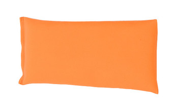 Rectangular Rice Bag with Neon Orange