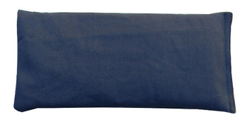 Rectangular Rice Bag with Navy Blue Fabric