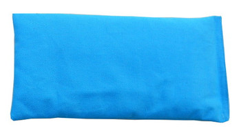 Rectangular Rice Bag with Turquoise Fabric